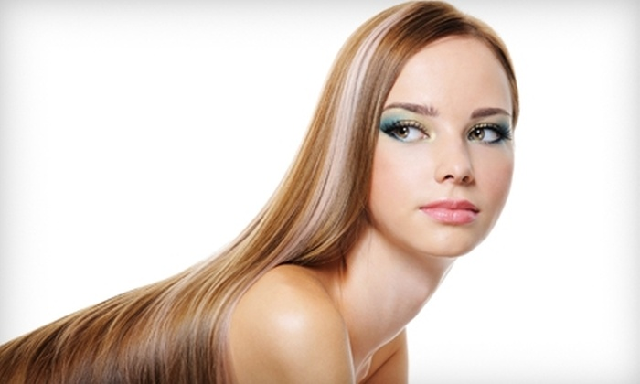 Trends Hair Salon - Woodland: Keratin Treatment or Choice of Full Highlights or Color at Trends Hair Salon in Woodland