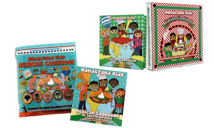 Kids' Cookbook Kits: Chinese, Italian, or Mexican Kids' Cookbook Kit
