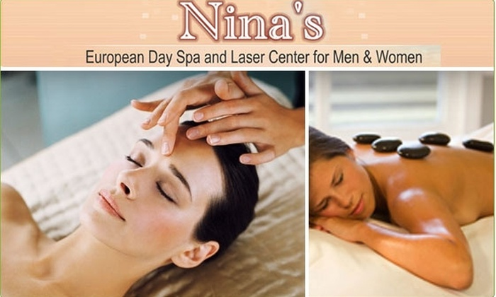 Nina's European Day Spa and Laser Center for Men & Women - Koreatown: $50 for $150 Worth of Spa Services & Laser Treatments