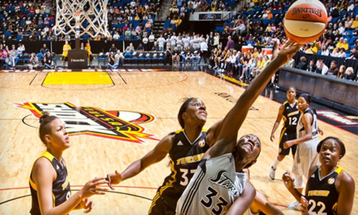Tulsa Shock - Downtown Tulsa: $15 for a Baseline Ticket, Tulsa Shock T-shirt, and Post-Game Autograph Voucher for the Tulsa Shock vs. San Antonio Silver Stars on Friday, July 30 ($31 Value)