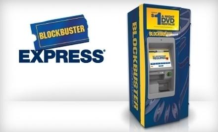 Blockbuster Express - Blockbuster Express in