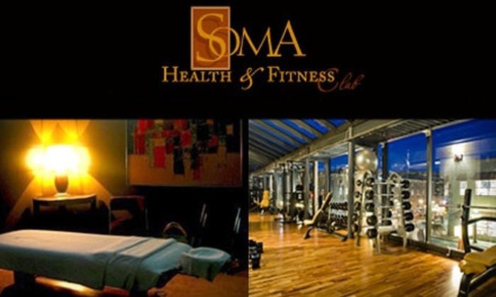 Soma Health & Fitness Club - Byward Market - Parliament Hill: $99 for a 10-Class Yoga Pack and 60-Minute Massage at Soma Health & Fitness Club ($231 Value)