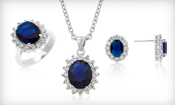 Flair Jewelry: Kate Middleton Engagement-Jewellery Replicas with Shipping from Flair Jewelry (Up to 58% Off). Four Options Available.