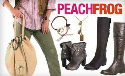 $60 Groupon to Peachfrog - Peachfrog in Brooklyn