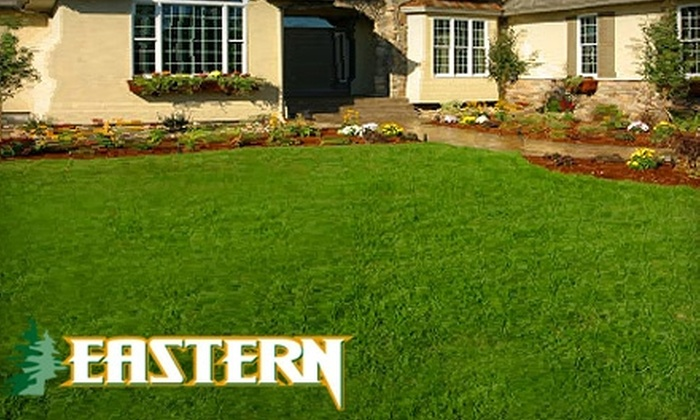 Eastern Grounds Maintenance - 14, Bowie: $75 for Two Springtime Fertilizer Applications from Eastern Grounds Maintenance ($178 Value)