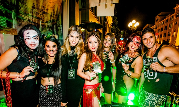 Club VIP - Gaslamp Quarter: Admission for One, Two, or Four to the San Diego Zombie Crawl from Club VIP on Saturday, Oct. 31 (Up to 44% Off)