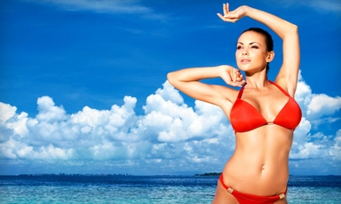 Sunset Tans - Cuyahoga Falls: $15 for a Mystic Spray Tan at Sunset Tans ($35 Value)