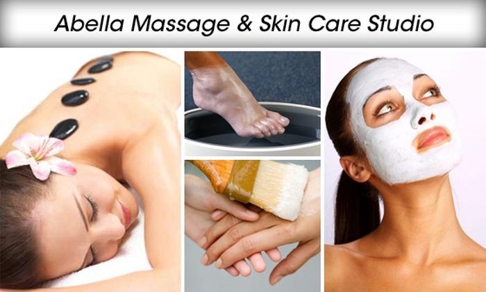 Abella Massage & Skin Care Studio - Sedalia: European Custom Facial and Paraffin Hand and Foot Wax Treatment at Abella Massage & Skin Care Studio