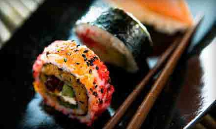 On A Roll - El Presidio: $15 for $30 Worth of Sushi at On A Roll