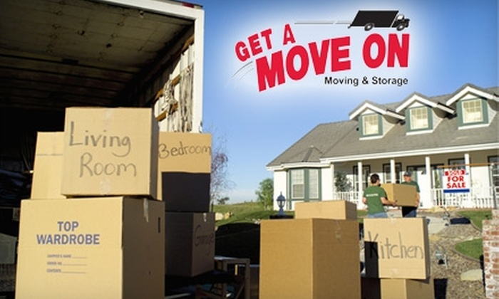 Get A Move On - Wichita: $60 for One Hour of Moving Services and 20 Boxes from Get A Move On ($175 Value)