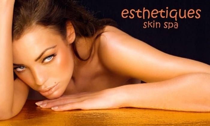 Esthetiques Skin Spa - Memphis: $45 for Three Airbrush Tans at Esthetiques Skin Spa ($105 Value)