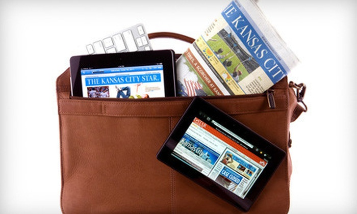"""Kansas City Star: 6-Month Online Subscription to """"E-Star"""" from """"Kansas City Star"""" (51% Off)"""