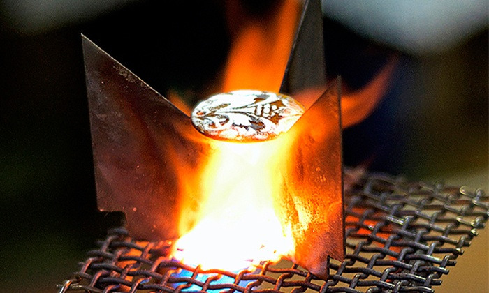 FireFusion Studio - Downtown: Introduction to Enameling Class for One or Two at FireFusion Studio (53% Off)