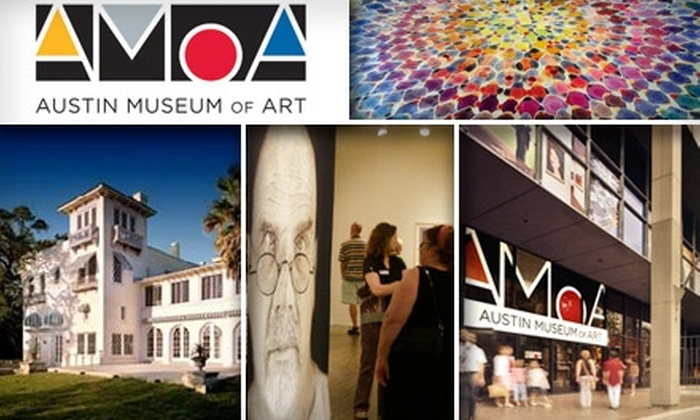 Austin Museum of Art - Downtown: $30 Household Membership to Austin Museum of Art