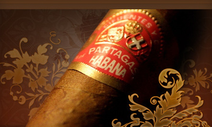 Cigar Connoisseurs - Downtown Vancouver: $20 for $40 Worth of Products at Cigar Connoisseurs