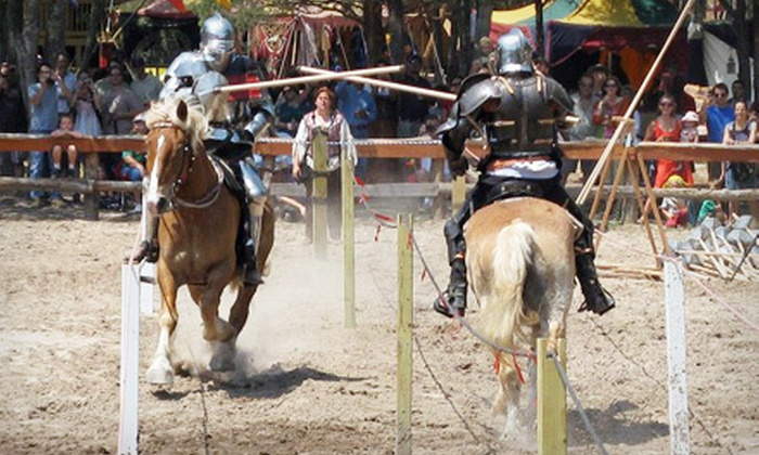 Sherwood Forest Faire - Sherwood Forest: Outing for Two or Four to Sherwood Forest Faire (Up to 53% Off)