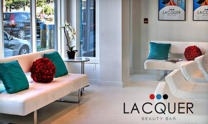 Lacquer Beauty Bar - Steveston: $29 for a Facial and Anti-Aging Face and Neck Massage at Lacquer Beauty Bar ($66.08 Value)