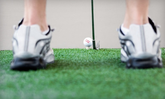 Madison Golf Center - Multiple Locations: $49 for a 45-Minute Lesson and Titleist Performance Institute Swing Analysis at Madison Golf Center ($180 Value)