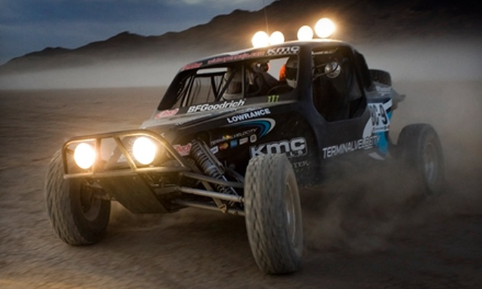 Legendary Excursions - Tremont: Off-Road Racecar Ride-Along for One or 15- or 25-Mile Driving Experiences for Two from Legendary Excursions in Tremont