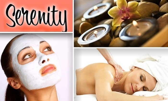 Serenity The Spa in Anchorage - East Louisville: $35 for a One-Hour Massage or Customized Facial at Serenity The Spa in Anchorage
