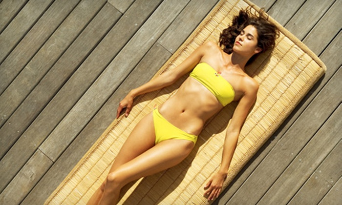 Malibu Tan and Swimwear - Pinellas Park: $20 for Two Airbrush-Tanning Sessions at Malibu Tan and Swimwear ($60 Value)