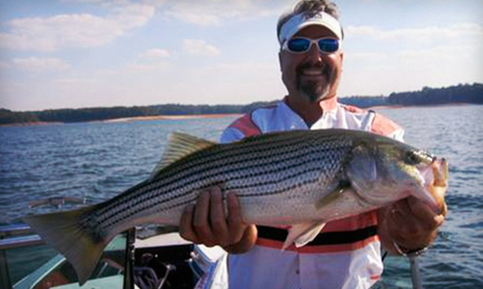 North Georgia Charters - Suwanee-Duluth: $199 for a Half-Day Fishing Trip for Up to Four on Lake Lanier from North Georgia Charters ($450 Value)