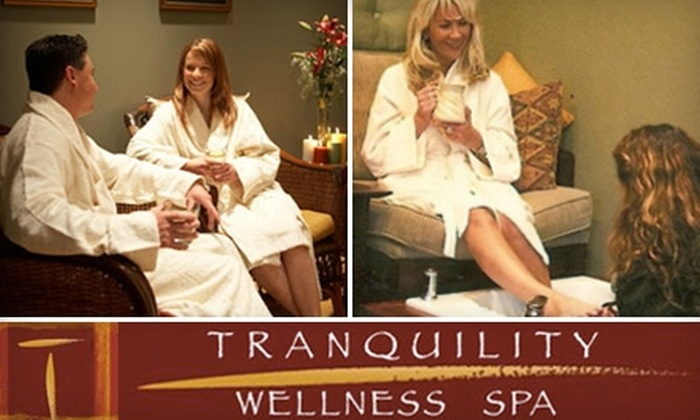 Tranquility Wellness Spa - Downtown St. Petersburg: $75 for a Facial, Mani-Pedi, and Neck, Shoulder, and Back Massage at Tranquility Wellness Spa in St. Petersburg ($155 Value)