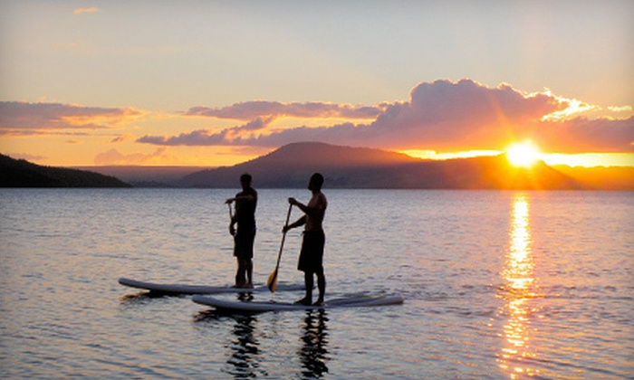 Lakota Guides - Vail Valley: All-Day Standup-Paddleboard Rental with Beer Tasting for One, Two, or Four from Lakota Guides in Edwards (Up to 54% Off)
