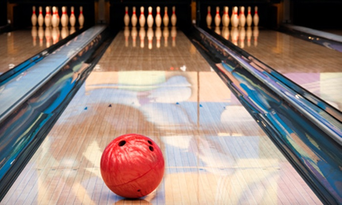 The Alley - University: $19 for a 2.5-Hours of Unlimited Bowling with Shoes for Four at The Alley (Up to $52 Value)