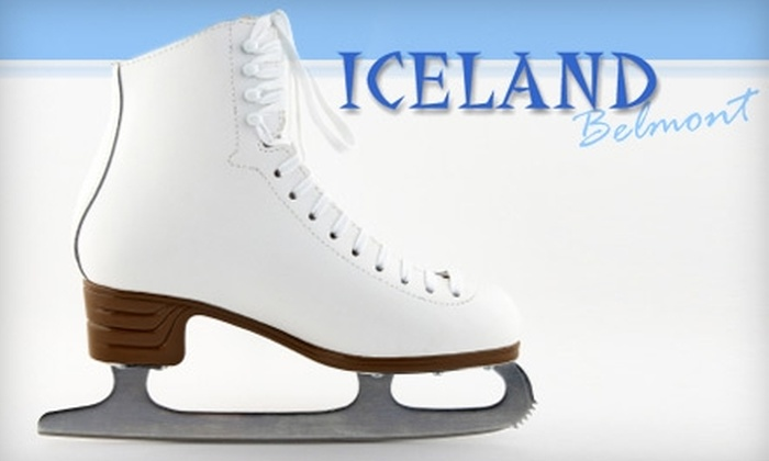 Belmont Iceland - Belmont: $5 for Admission and Skate Rental at Belmont Iceland (Up to $10 Value)