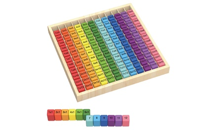 Tabla de multiplicar de madera Tooky Toys