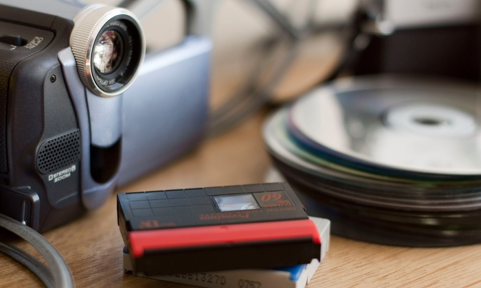 Modern Video Services - San Buenaventura (Ventura): One or Two Videotape-to-DVD Transfers at Modern Video Services (Up to 57% Off)