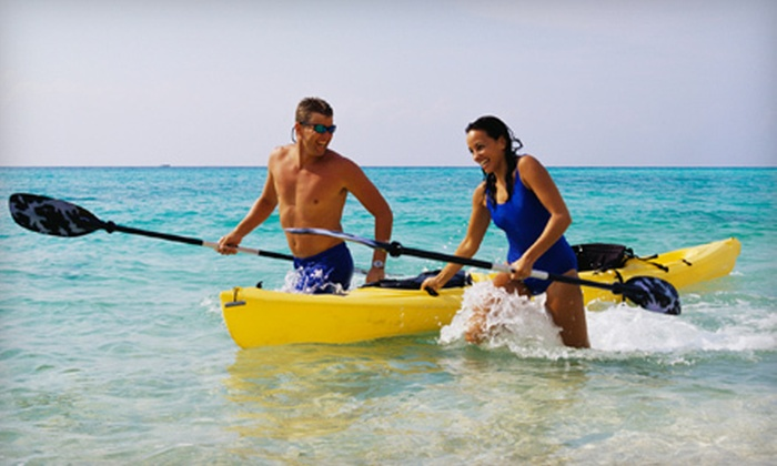 Sea Monkeys Watersports - Sea Monkeys Watersports: One-Hour Kayak Rental for One or Two from Sea Monkeys Watersports (Up to 52% Off)