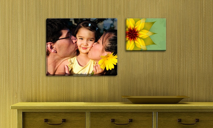 Picture it on Canvas **NAT**: Custom Gallery-Wrapped Photo Canvases from Picture It On Canvas (Up to 90% Off). Three Options Available.