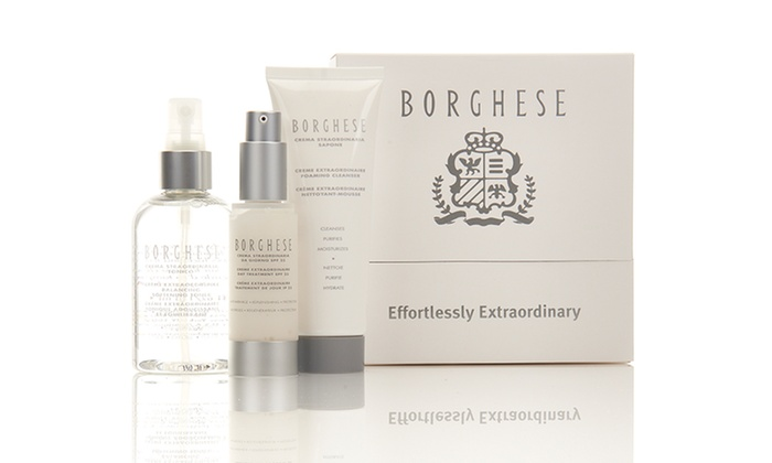 Borghese Effortlessly Extraordinary Skincare Kit: Borghese Effortlessly Extraordinary Skincare Kit
