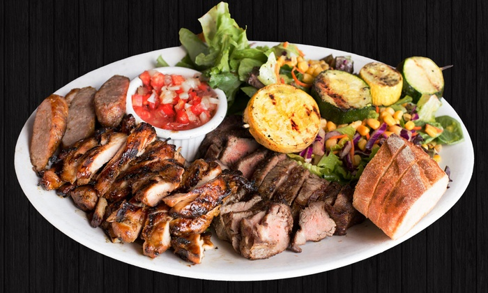 Silvio's Brazilian Beach BBQ - Hermosa Beach: Brazilian Barbecue and Drinks for Two at Silvio's Brazilian Beach BBQ (25% Off). Two Options Available.
