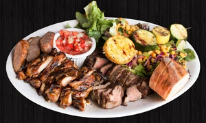 Silvio's Brazilian Beach BBQ: Brazilian Barbecue and Drinks for Two at Silvio's Brazilian Beach BBQ (25% Off). Two Options Available.