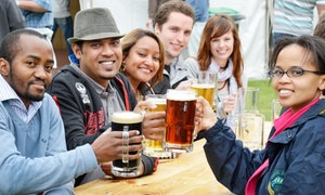 The South African Breweries: #BeerExperience Tour with a Branded Beer Glass from R220 for Four at the South African Breweries (Up to 55% Off)