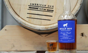 Bully Boy Distillery: Distillery Tour for Two or Four of Bully Boy Distillers (Up to 52% Off)