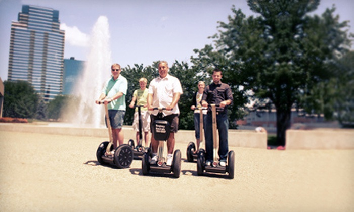 Segway Tours of Grand Rapids - Brown Loading Dock Door: 60-Minute Segway Tour for One, Two, or Four from Segway Tours of Grand Rapids (51% Off)