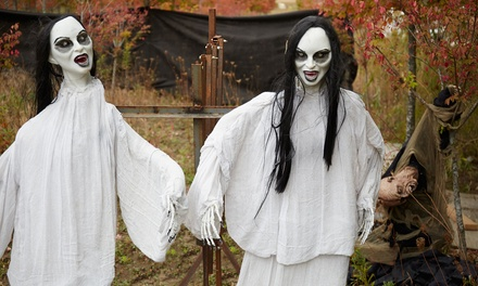 Haunted Hayride for One or Two at Seven Cedars Farm (Up to 27% Off)