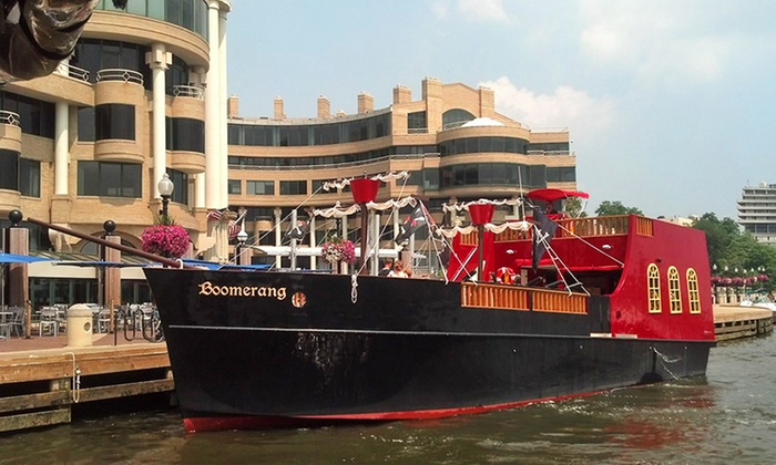 Boomerang Boat Tours - Northwest Washington: $16 for an Adult Pirate Ship Party Cruise from Boomerang Boat Tours ($32 Value)