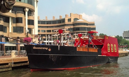 $16 for a Pirate Ship Party Cruise from Boomerang Tours, Inc. ($32 Value)