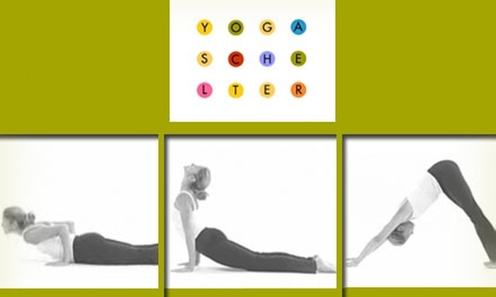 Yoga Schelter - Allegheny West: $14 for Three Drop-In Classes at Yoga Schelter ($30 Value)
