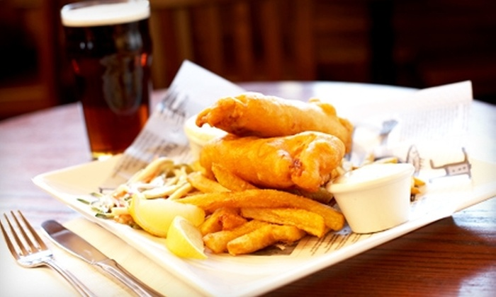 The Fish Bucket - Dana Point: $10 for $20 Worth of Seafood, Burgers, and Sweets at The Fish Bucket