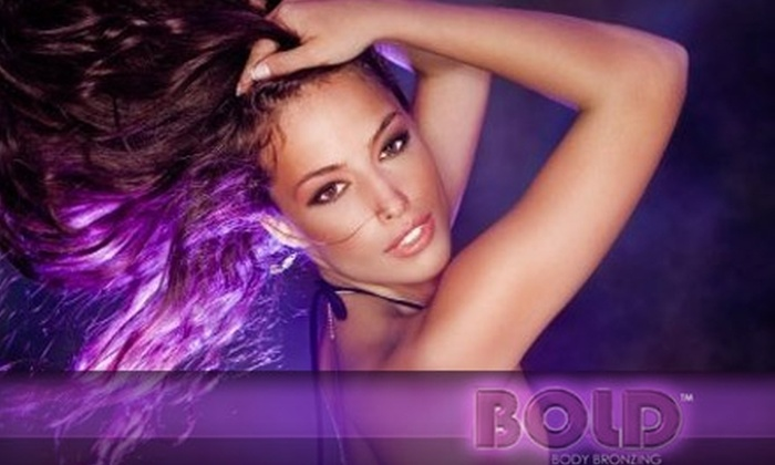 BOLD Body Bronzing - Peccole Ranch: $30 for One Infinity Sun Mobile Spray-Tan Session from Bold Body Bronzing ($75 Value)