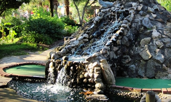 Jungle Golf - Northeast Virginia Beach: $20 for Four Mini-Golf Passes and Two Popcorn Combos at Jungle Golf in Virginia Beach