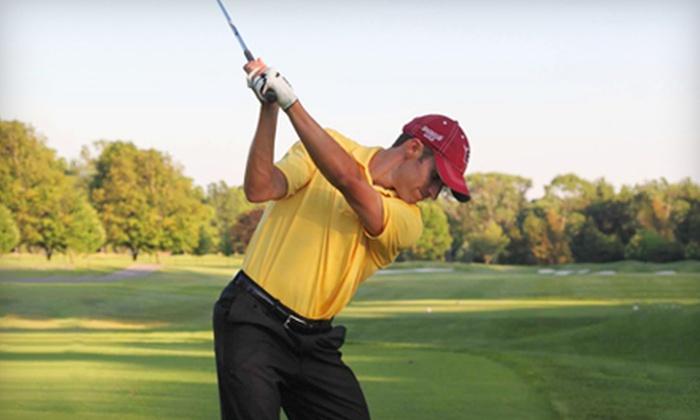 Zionsville Golf Practice Center - Zionsville: One or Three Private Golf Lessons from Mark Weghorst in Zionsville