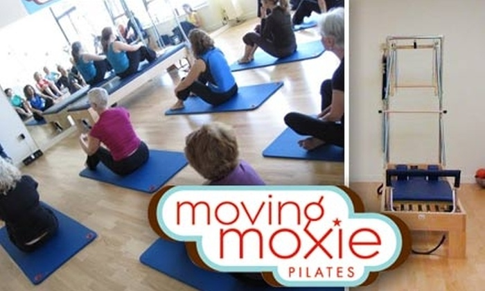 Moving Moxie Pilates - Hillsdale: $50 for One Private Pilates Session and Six Mat Classes at Moving Moxie Pilates ($125 Value)