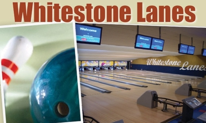 Whitestone Lanes - Flushing: $9 for Two Games of Bowling and a Shoe Rental at Whitestone Lanes (Up to $19.50 Value)